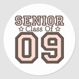 Senior Class of 09 Stickers