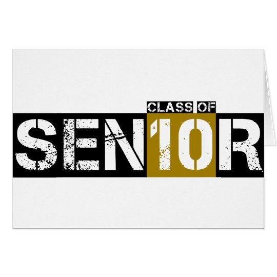 Senior Class of 2010 Card