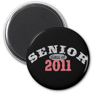 Senior Class of 2011 2 Inch Round Magnet