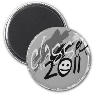 Senior, Class of 2011 2 Inch Round Magnet