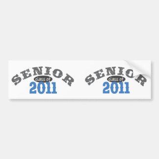 Senior Class of 2011 Bumper Sticker
