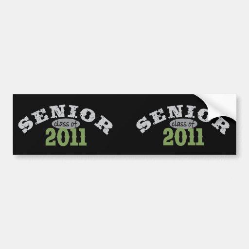 Senior Class of 2011 Bumper Stickers