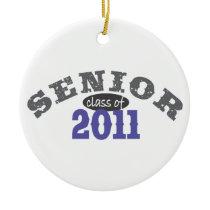 Senior Class of 2011 Ceramic Ornament