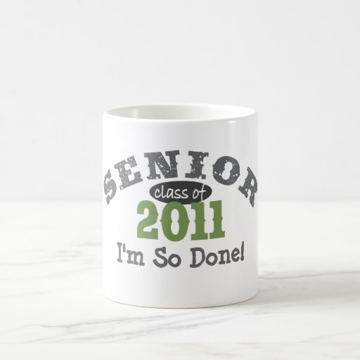 Senior Class of 2011 Mugs