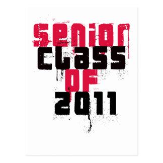 Senior Class Of 2011 Postcard