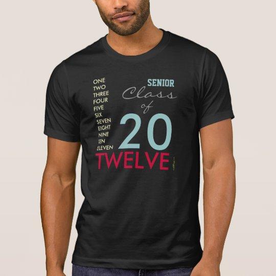 SENIOR Class of 2012 Destroyed Fashion T-Shirt