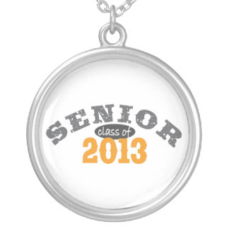 Senior Class of 2013 Silver Plated Necklace