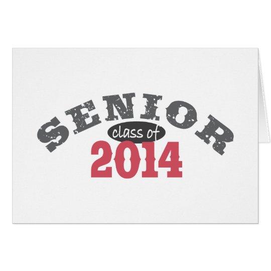 Senior Class of 2014 Card