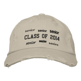 Senior Class of 2014 - Embroidered Hat