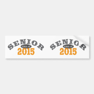 Senior Class of 2015 Bumper Sticker