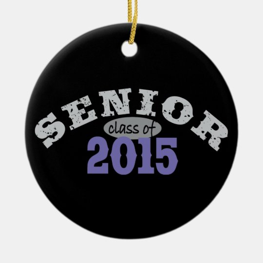 Senior Class of 2015 Ceramic Ornament
