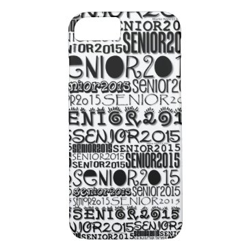 Beach Themed Senior Class of 2015 iPhone 7 Barely There Case
