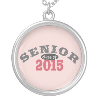 Senior Class of 2015 Personalized Necklace