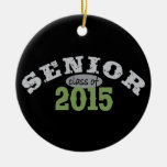 Senior Class of 2015 Double-Sided Ceramic Round Christmas Ornament