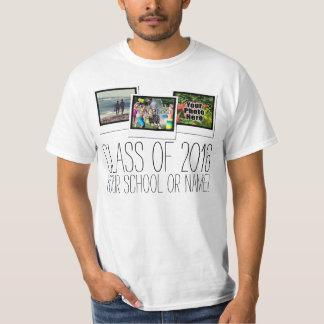 Senior Class of 2016 Graduation Photo Custom T-shirt