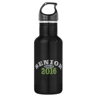 Senior Class of 2016 Green 18oz Water Bottle
