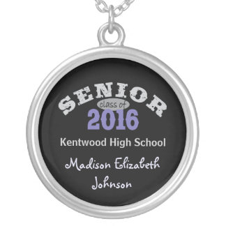 Senior Class of 2016 Purple Pendants
