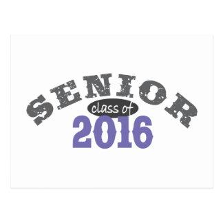 Senior Class of 2016 Purple Postcard