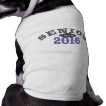 Senior Class of 2016 Purple Tee