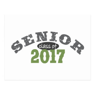 Senior Class of 2017 Green Postcard
