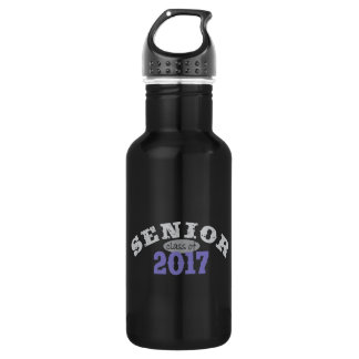 Senior Class of 2017 Purple 18oz Water Bottle
