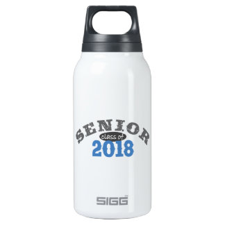 Senior Class of 2018 Blue SIGG Thermo 0.3L Insulated Bottle
