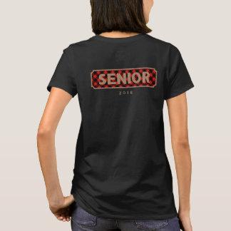 Senior Class of 2018 Burlap + Buffalo Plaid Tee