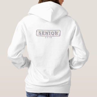 Senior Class of 2018 Feathers Graduation Hoodie