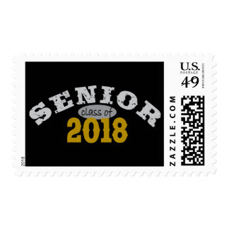 Senior Class of 2018 Yellow Gold Stamp
