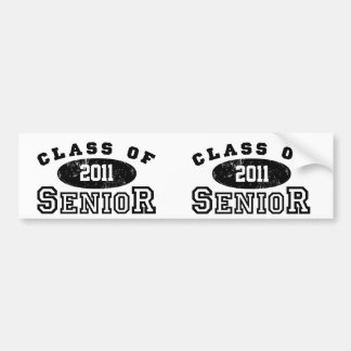 Senior Class Of Bumper Sticker