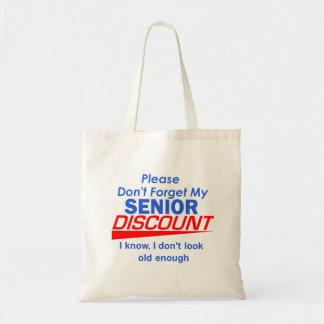 SENIOR DISCOUNT Bag