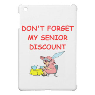 senior discount iPad mini cases