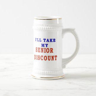 SENIOR DISCOUNT COFFEE MUG