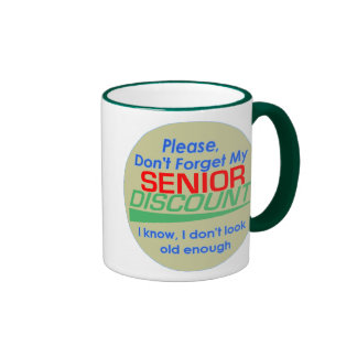 Senior Discount Mug