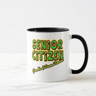 Senior Discounts Mug