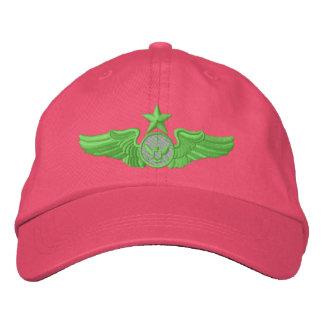Senior Enlisted Member Embroidered Baseball Cap