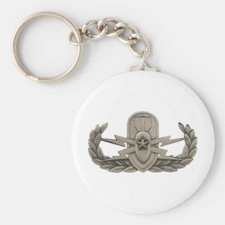 Senior EOD Basic Round Button Keychain