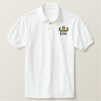 Senior EOD Embroidered Polo Shirt