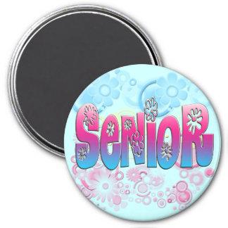 Senior - Flowers 2 Magnet