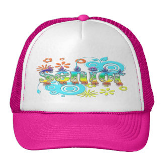 Senior - Flowers Hats