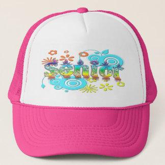 Senior - Flowers Trucker Hat