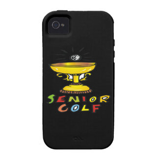 Senior Golf Trophy Vibe iPhone 4 Cover