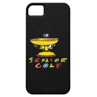 Senior Golf Trophy iPhone 5 Cases