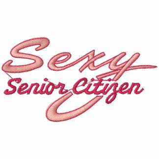 Senior Hottie Embroidered Shirt