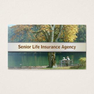 Senior Life Insurance business card v2