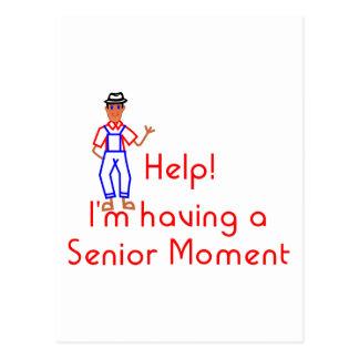 Senior Moment Postcard