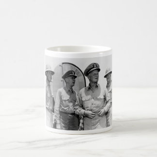 Senior Naval Officers 1944 - Nimitz, King, Etc. Coffee Mug