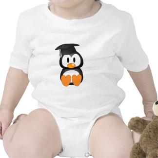 Senior Penguin Baby Bodysuits