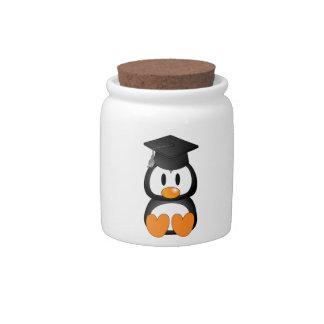 Senior Penguin Candy Jars