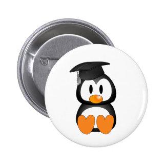 Senior Penguin Pinback Buttons